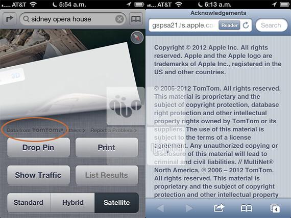 Apple y Tom Tom se unen para traernos el nuevo Maps en iOS 6