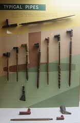 Pipes from Various Tribes
