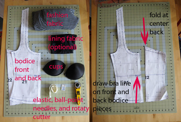 15ad81c6be How-To  Sewing a Built-In Bra with Cups – Sewing Blog