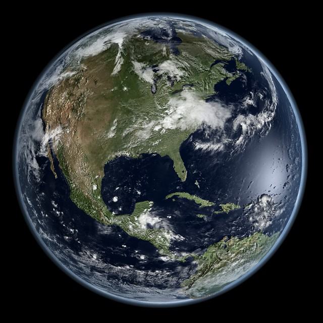 Earth - Global Elevation Model with Satellite Imagery ...