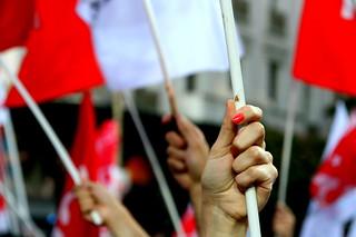 αθήνα, πλατεία ομόνοιας - προεκλογική συγκέντρωση του σύριζα