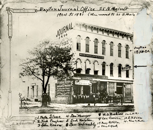 Journal Office in 1876
