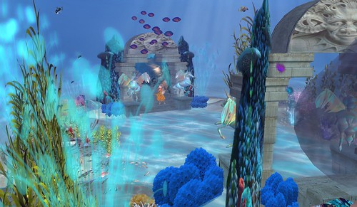 Mer Garden at SL9B, photograph by Shiran Sabra