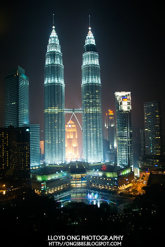 KLCC Night View