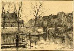 <p>Stadsbuitengracht, zuidzijde, zicht op Tolsteegsingel. Coll. Het Utrechts Archief.</p>
