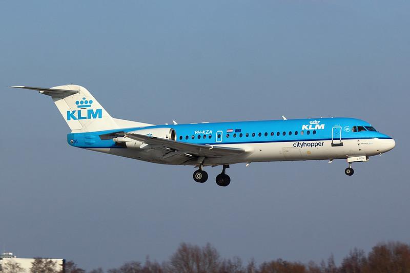 KLM - F70 - PH-KZA (2)