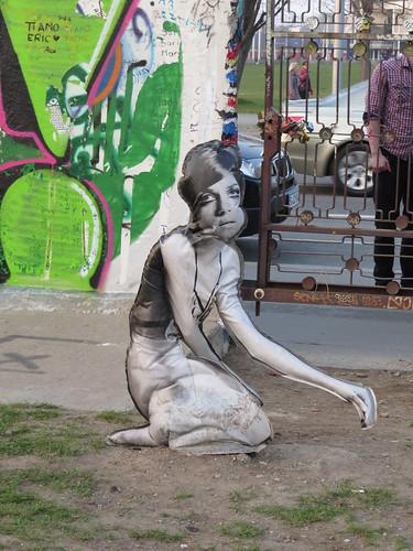 Inflatable streetart