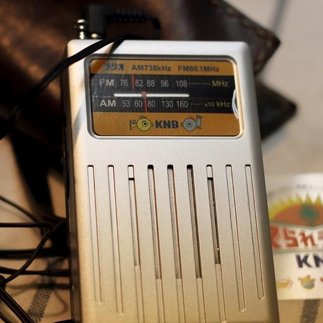 今日はKNBラジオの生中継でSESESEstudioにアナウンサーの方が来られました。自分が何喋ってるのか?チンプンカンプンでしたが、和気あいあいと来られたお客様共々ラジオのプレゼントがありました(^^;;サプライズ企画でしたが、皆さんに喜んでもらえました!