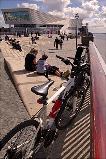 Pier Head in spring sunshine