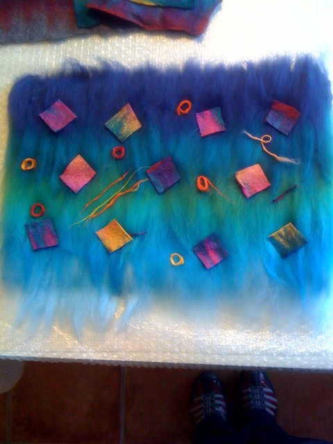 Felting class day 2, photo 1