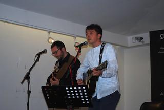 I due musicisti, Giorgio Guarini e Antonio Pugliese