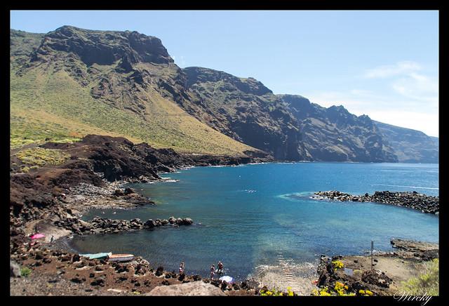 Punta de Teno lugar más occidental Tenerife - Cala en Punta de Teno
