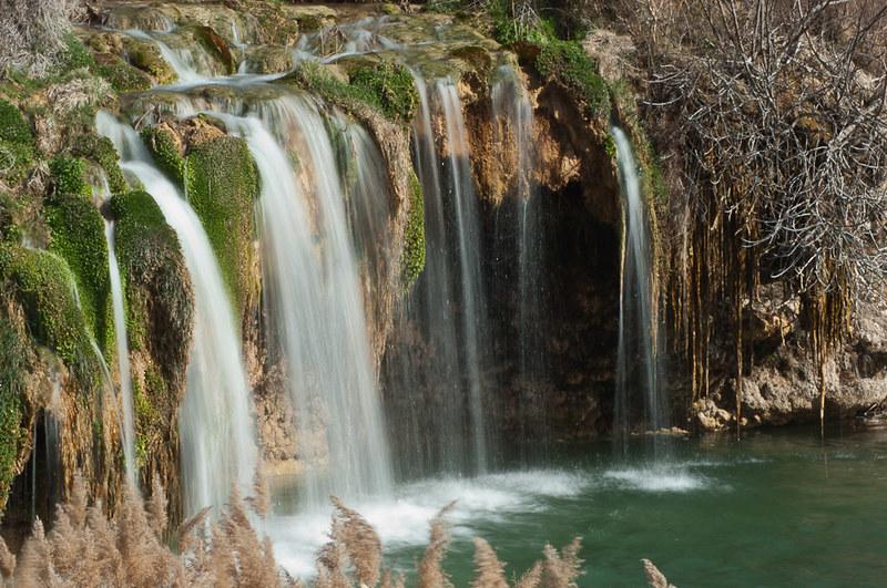 Cascadas en las Laguanas de Ruidera