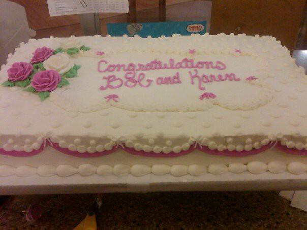 Wedding Sheet Cake Flickr Photo Sharing