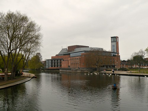 Stratford-upon-Avon, Royal Shakespeare Company Building  2