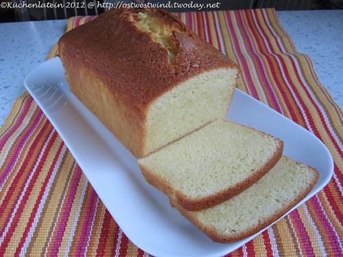 Zitronen-Kastenkuchen - Lemon Loaf Cake 002