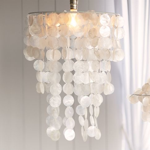 And emma makes 5 my diy capiz chandeliers pb teen mozeypictures Choice Image