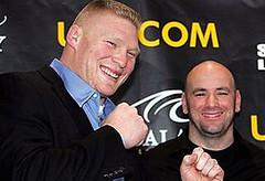 Dana Has Serious Praise for Brock