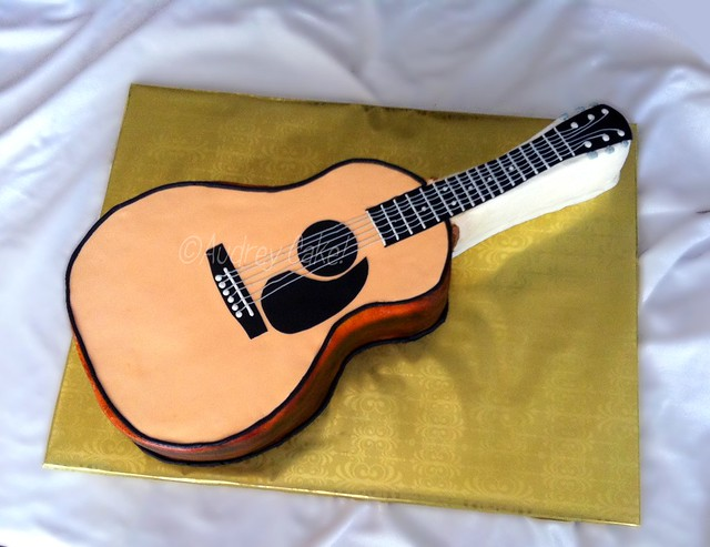 Acoustic Guitar Templates For Cake