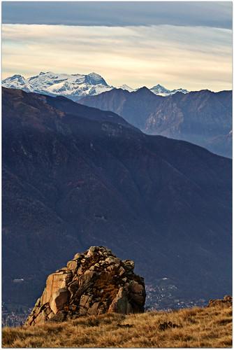 sunset sky italy mountain italia tramonto natura piemonte cielo montagna mottarone