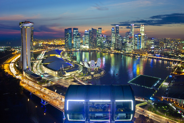 Singapore Flyer - Towards a perfection View