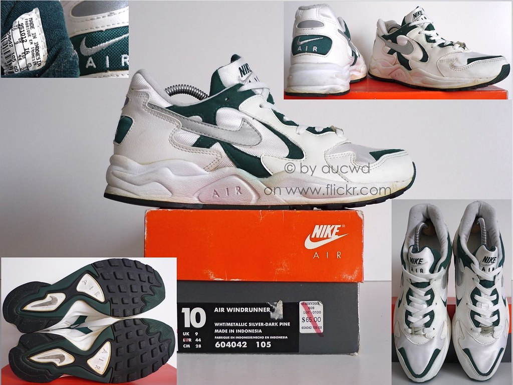 size 40 1128c b366b ... 90`S VINTAGE NIKE AIR WINDRUNNER SHOES  by aucwd