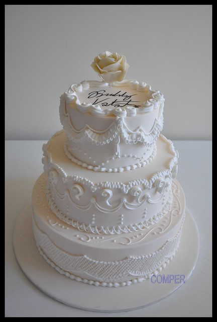 wedding cake signed by buddy valastro flickr photo