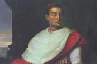 Retrato del cardenal Gardoqui, de José de Madrazo.