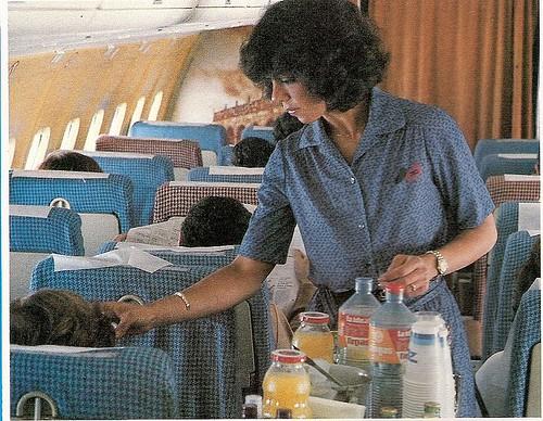 Interior Cabina de Pasaje Douglas DC-9 de Aviaco