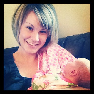 Day 13: Something I found...I love being an auntie with every new niece or nephew!! #photoadayapril