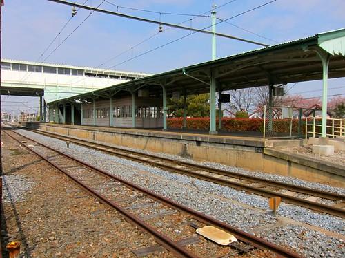 行田市駅線路