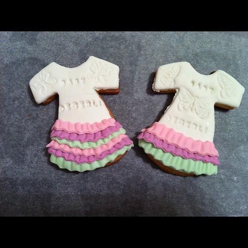 Kız bebek dogum kurabiyeleri by l'atelier de ronitte