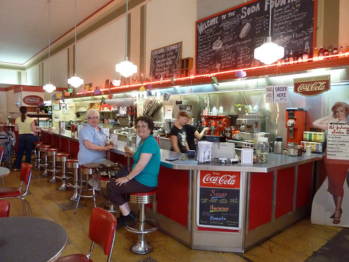 Soda Fountain at Woolworth Walk