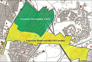 Greenbelt Sector Plan Zones