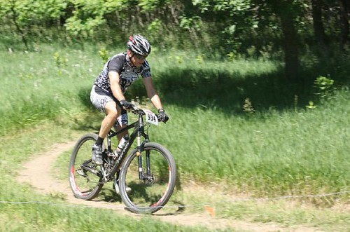 Shredding the Maskenthine XC Race