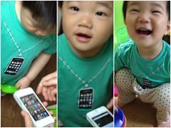 今日はiPhone Tシャツを着てるよ^^ (2012/5/9)