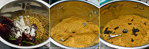 How to make idli podi - Step2