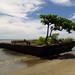 The black beach in  Puerto Viejo, Costa Rica 07MAY12