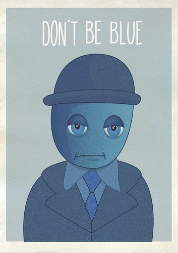 Don't be blue by helencarter1001