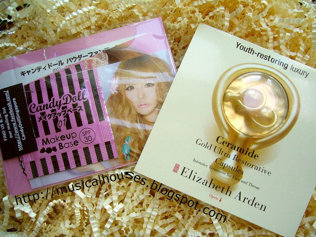 candydoll elizabeth arden ceramide capsules bellabox may