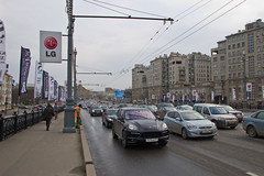 Trafic sur le Pont Bolshoy Kamenny