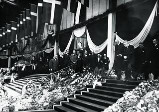 Staunings begravelse i Forum 10. Maj 1942
