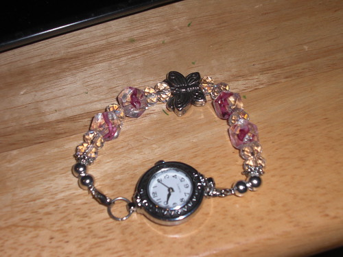 interchangeable beaded watch