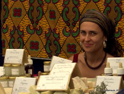 La vendedora de aromas