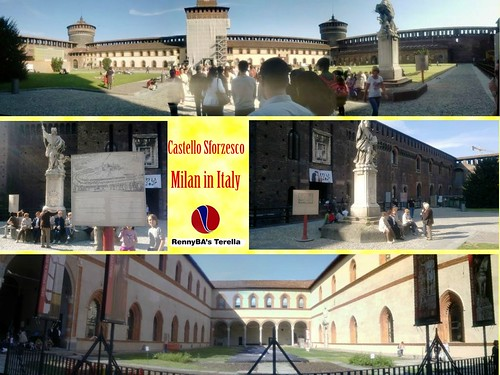 Milan Castello Sforzesco A
