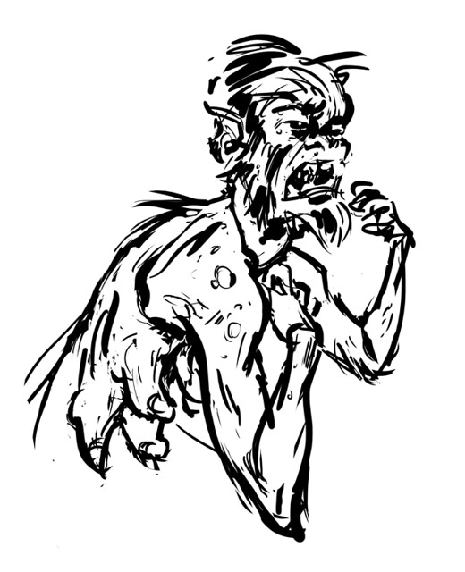 Weremonster sketch