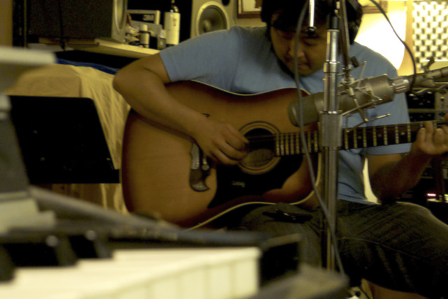 Goh Nakamura in Studio... Check out his Kickstarter Project!
