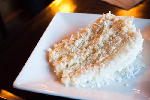 Coconut Cake @ Gravity Espresso & Wine Bar