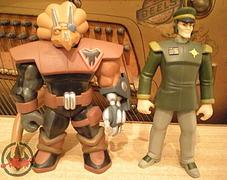 TEENAGE MUTANT NINJA TURTLES :: GENERAL BLANQUE vii / ..with  Commander Mozar (( 2005 ))