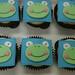 Patchwork froggies - <span>www.cupcakebite.com</span>